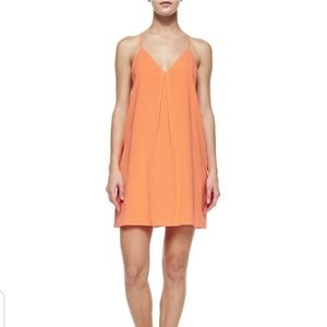 Alice & Olivia Fierra Y-Back Tank Dress